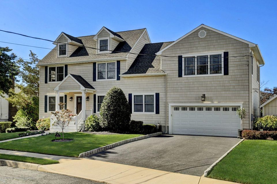Single Family Home for Sale at 478 Adrian Avenue 478 Adrian Avenue Oceanport, New Jersey 07757 United States