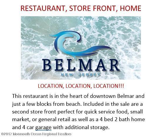 Comercial para Venda às Main Street Main Street Belmar, Nova Jersey 07719 Estados Unidos