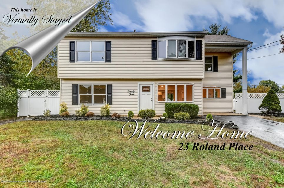 Single Family Home for Sale at 23 Roland Place 23 Roland Place Hazlet, New Jersey 07730 United States
