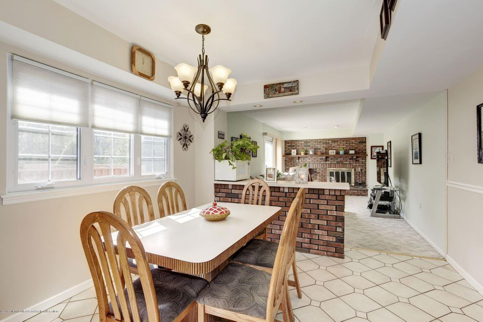 Kitchen open to family room