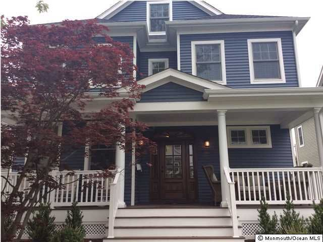 Single Family Home for Rent at 512 6th Avenue 512 6th Avenue Belmar, New Jersey 07719 United States