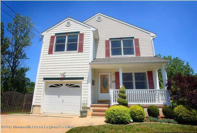 Single Family Home for Sale at 29 Florence Avenue 29 Florence Avenue Leonardo, New Jersey 07737 United States