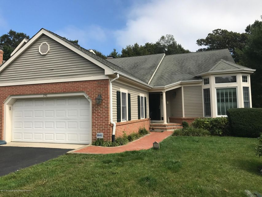 Condominium for Rent at 240 Whispering Woods Court 240 Whispering Woods Court Little Silver, New Jersey 07739 United States