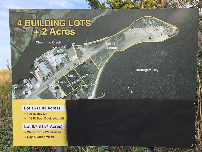 Land for Sale at 199 Bay Drive 199 Bay Drive Bayville, New Jersey 08721 United States