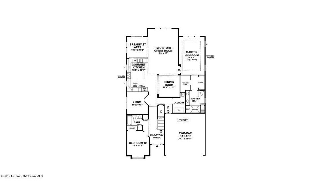 Bronson First Floor Plan