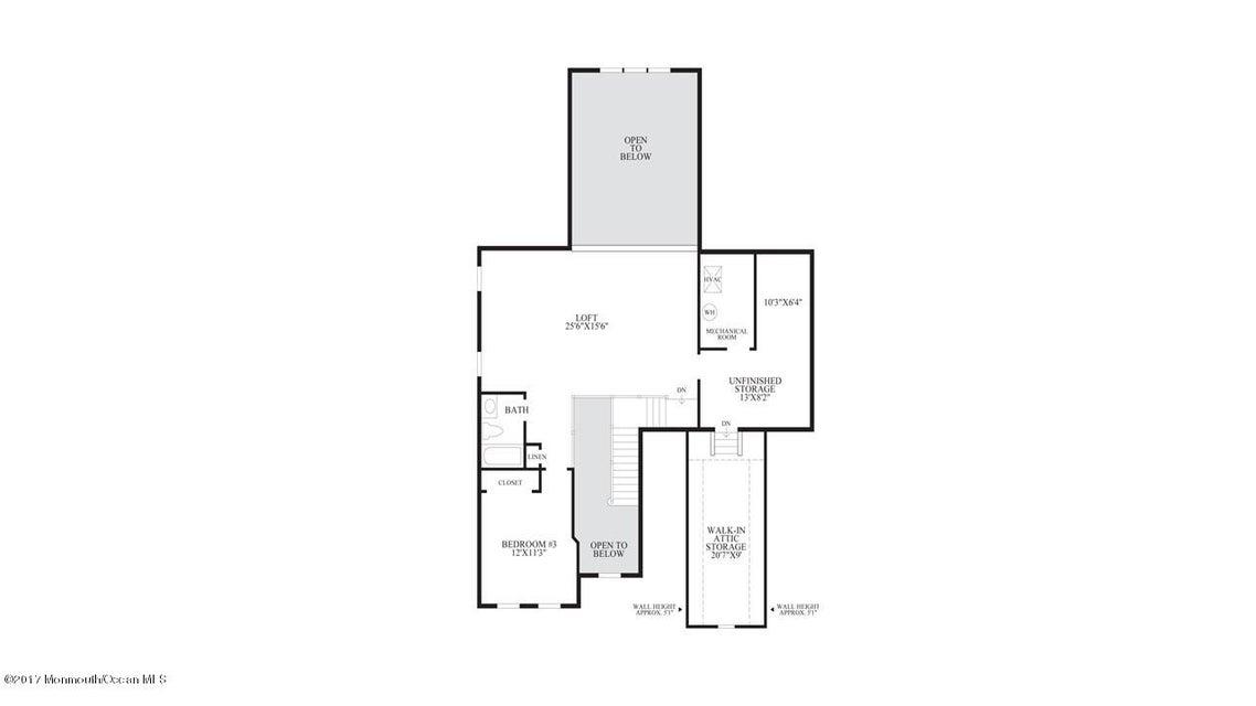 Bronson 2nd Floor Plan