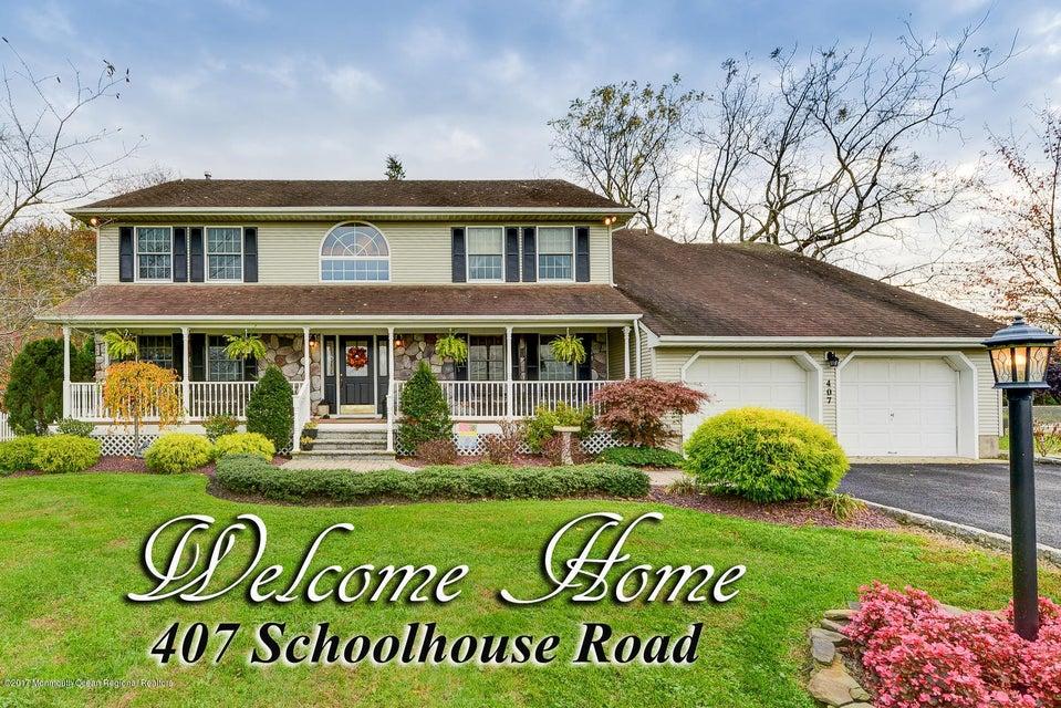 Casa para uma família para Venda às 407 Schoolhouse Road 407 Schoolhouse Road Monroe, Nova Jersey 08831 Estados Unidos