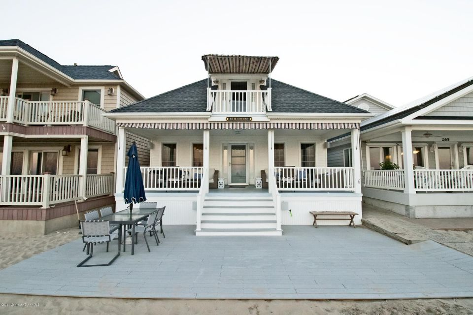 Single Family Home for Rent at 267 Beach Front 267 Beach Front Manasquan, New Jersey 08736 United States