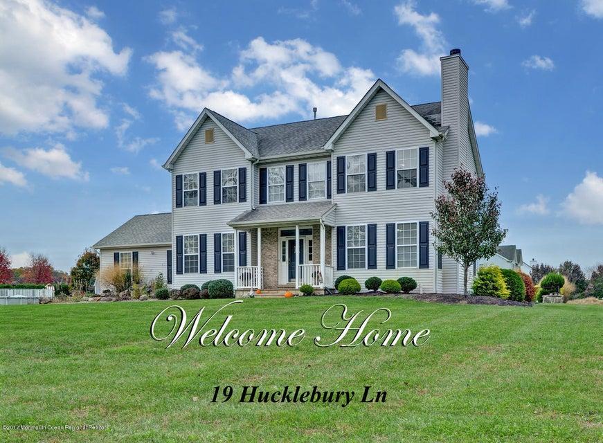 獨棟家庭住宅 為 出售 在 19 Huckleberry Lane 19 Huckleberry Lane New Egypt, 新澤西州 08533 美國