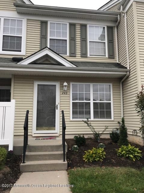 Condominium for Rent at 243 Brookfield Drive 243 Brookfield Drive Jackson, New Jersey 08527 United States