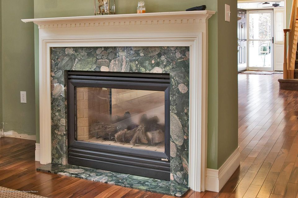 432 marble fireplace