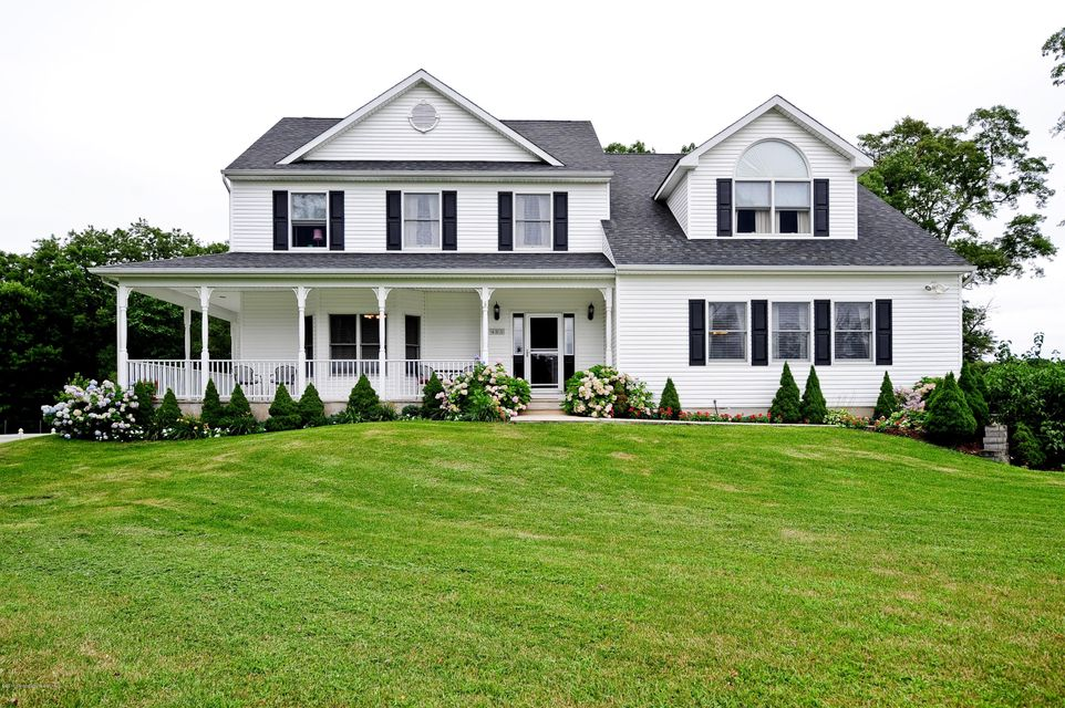 Vivienda unifamiliar por un Venta en 485 Colts Neck Road 485 Colts Neck Road Farmingdale, Nueva Jersey 07727 Estados Unidos