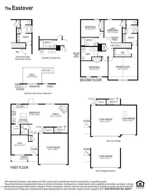 Eastover Floor Plan