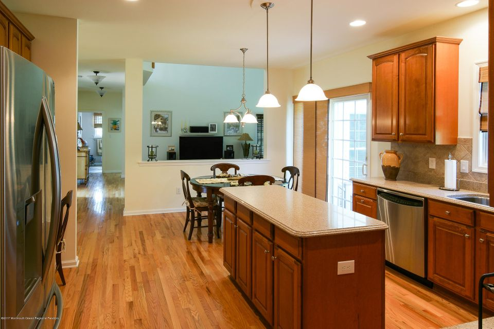 Kitchen with View to Family Room