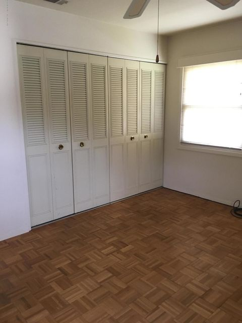 Double closets master bedroom