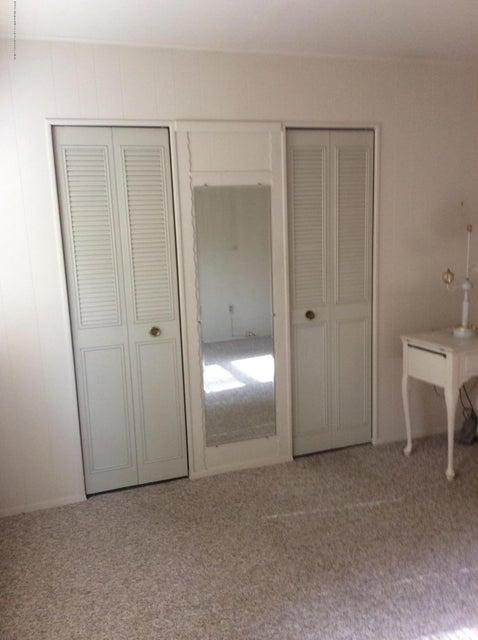 double closet in second bedroom