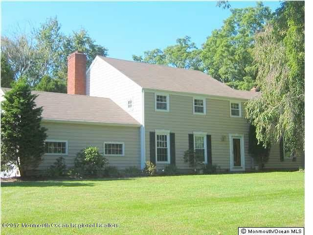 Single Family Home for Rent at 44 Maple Drive 44 Maple Drive Colts Neck, New Jersey 07722 United States