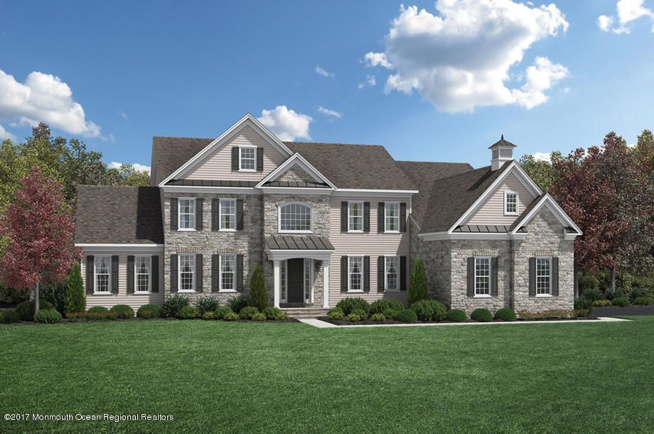 一戸建て のために 売買 アット 14 Gillingham Court 14 Gillingham Court Lincroft, ニュージャージー 07738 アメリカ合衆国