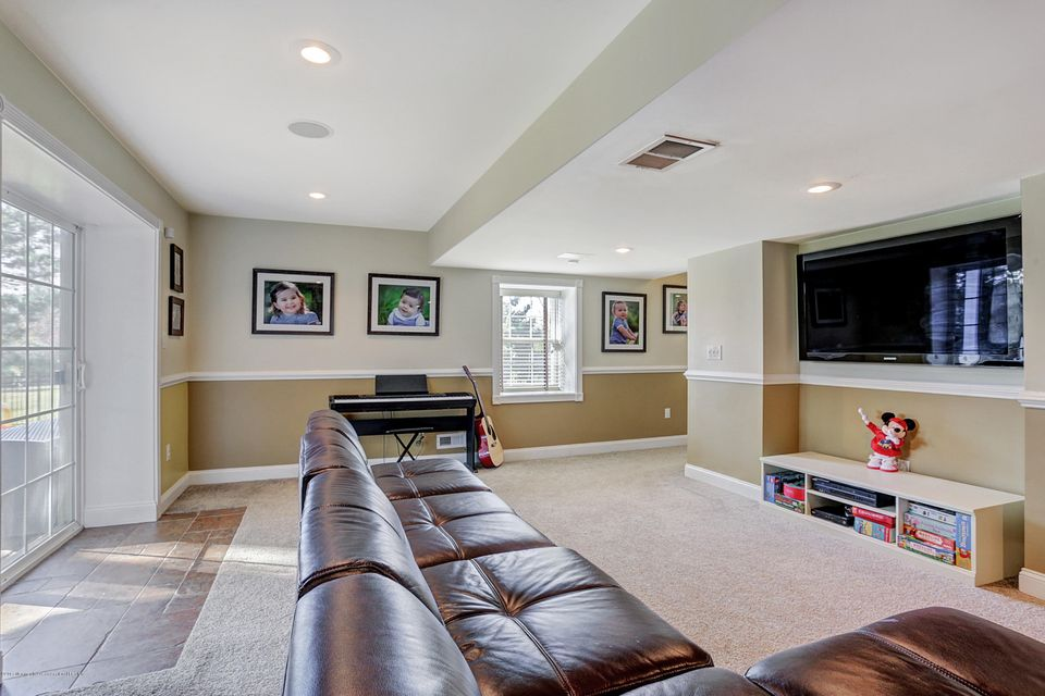 Basement with Walk Out to Backyard
