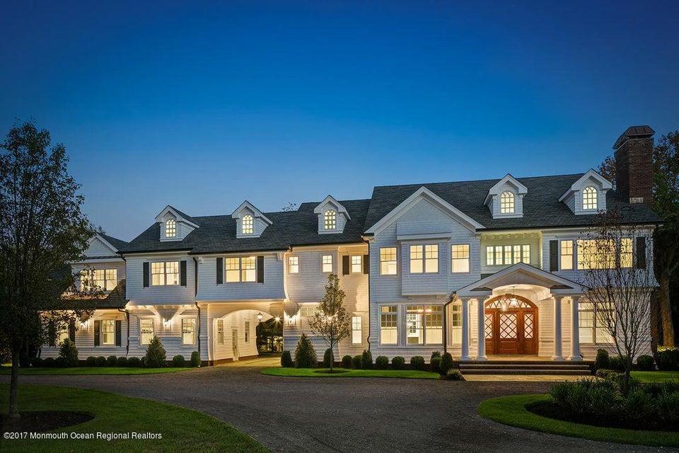 Maison unifamiliale pour l à louer à 129 Rumson Road 129 Rumson Road Rumson, New Jersey 07760 États-Unis