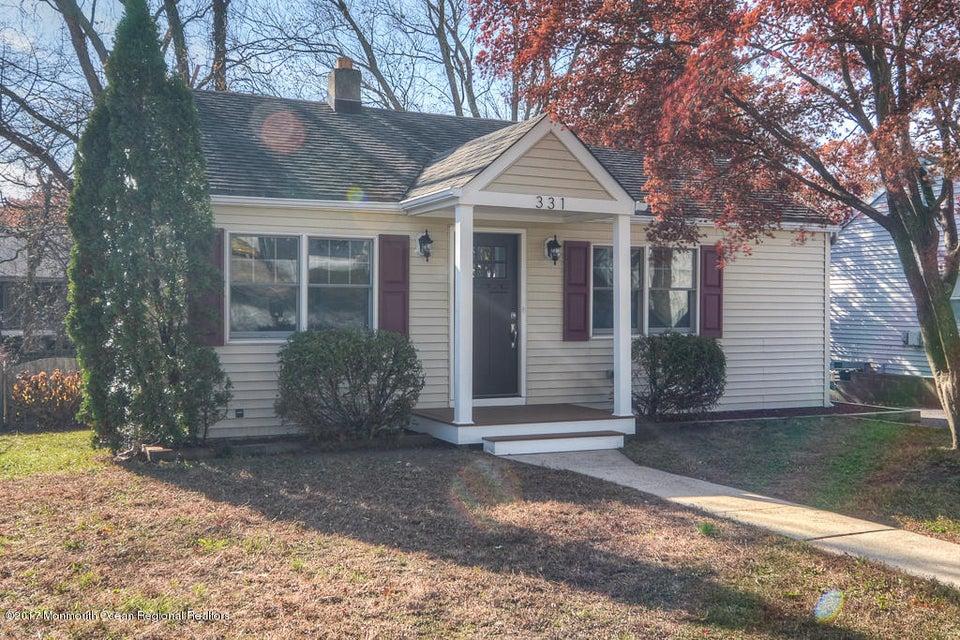 Single Family Home for Sale at 331 Sylvania Avenue 331 Sylvania Avenue Neptune City, New Jersey 07753 United States