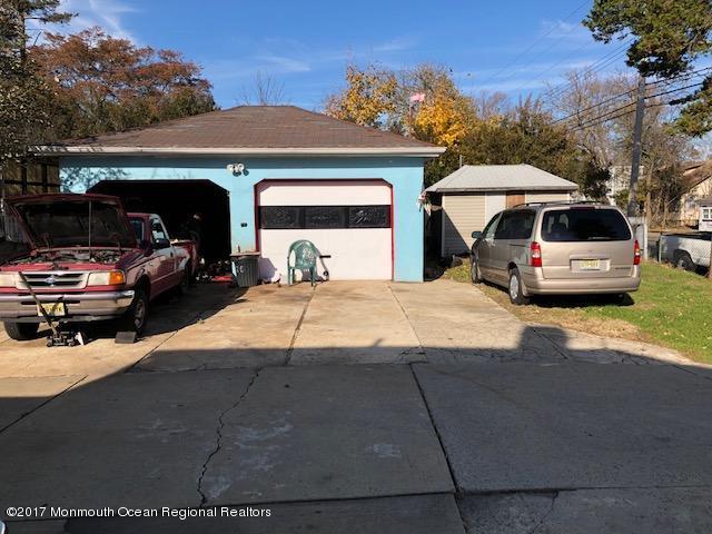 Large detached garage