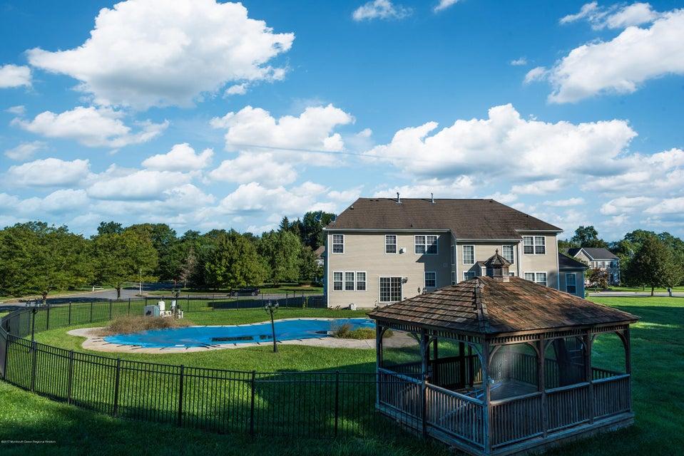 Gazebo and pool