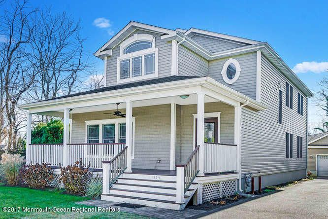 Maison unifamiliale pour l Vente à 553 1/2 Church Street 553 1/2 Church Street Spring Lake Heights, New Jersey 07762 États-Unis