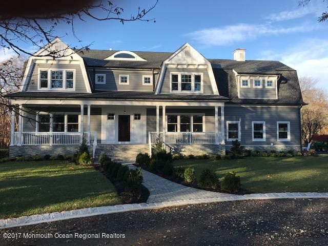 Single Family Home for Sale at 6 Pond Road 6 Pond Road Rumson, New Jersey 07760 United States