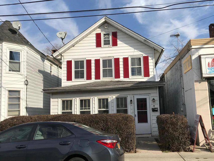Single Family Home for Rent at 75 Broad Street 75 Broad Street Keyport, New Jersey 07735 United States