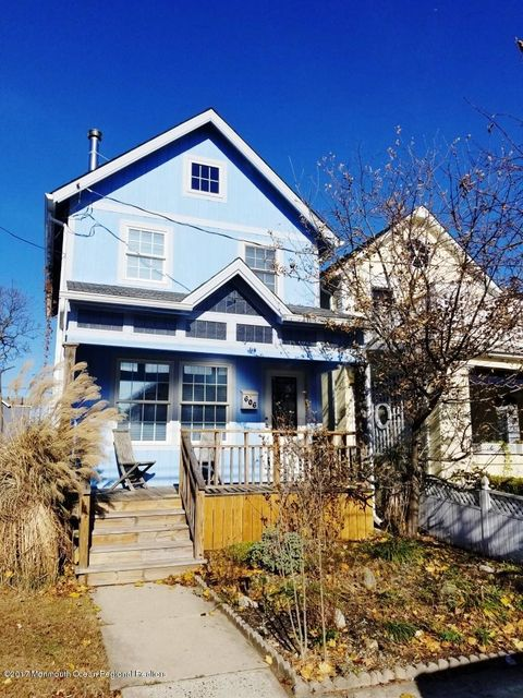 Single Family Home for Sale at 606 Ocean Park Avenue 606 Ocean Park Avenue Bradley Beach, New Jersey 07720 United States