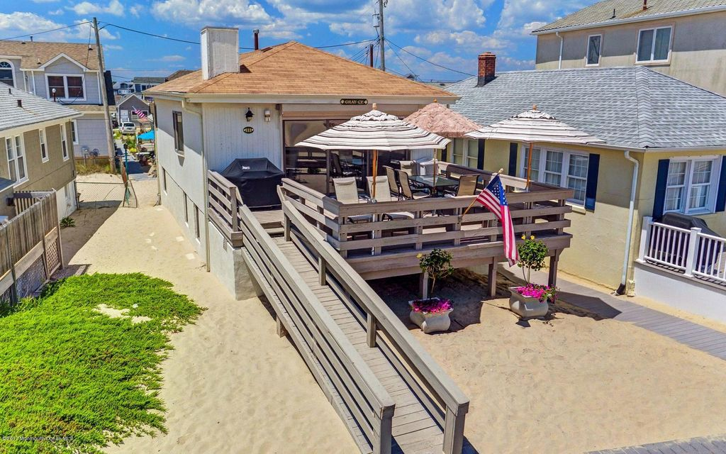 Single Family Home for Sale at 111 Boardwalk 111 Boardwalk Point Pleasant Beach, New Jersey 08742 United States