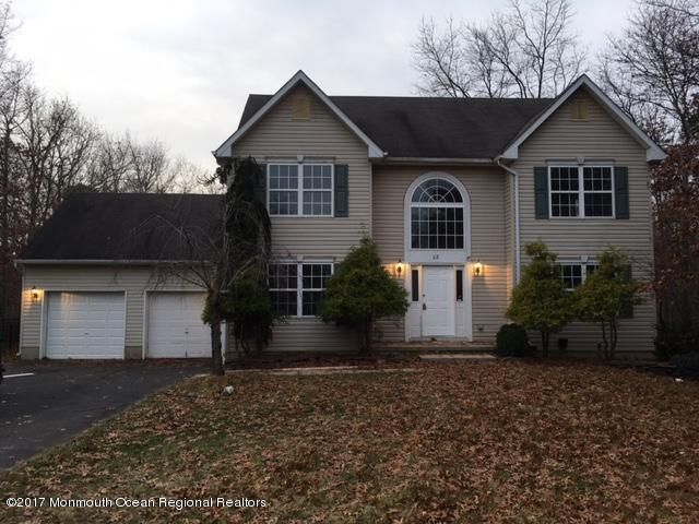 Single Family Home for Rent at 22 Dove Mill Cres 22 Dove Mill Cres Jackson, New Jersey 08527 United States