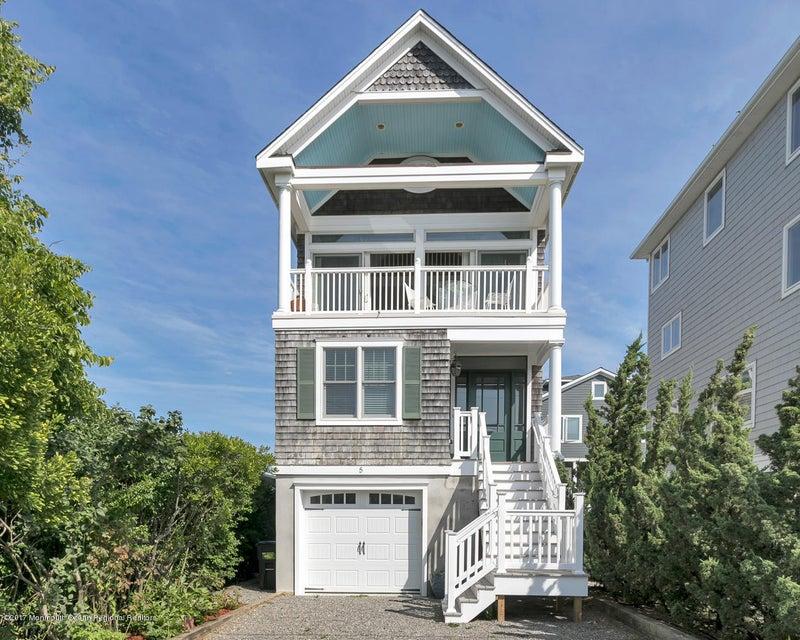 Casa Unifamiliar por un Alquiler en 5 River Way 5 River Way Sea Bright, Nueva Jersey 07760 Estados Unidos