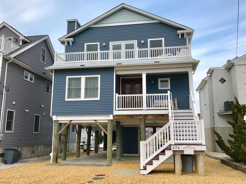 Maison unifamiliale pour l Vente à 476 Brielle Road 476 Brielle Road Manasquan, New Jersey 08736 États-Unis