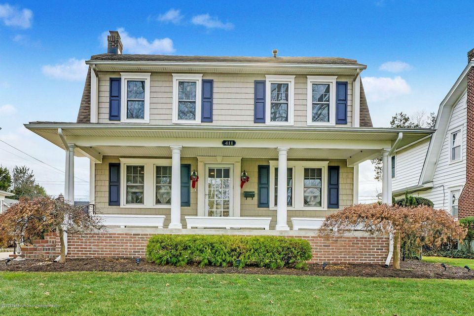 Single Family Home for Sale at 411 Sussex Avenue 411 Sussex Avenue Spring Lake, New Jersey 07762 United States