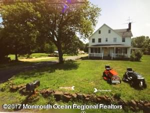 Single Family Home for Sale at 1405 Perrineville Road 1405 Perrineville Road Monroe, New Jersey 08831 United States