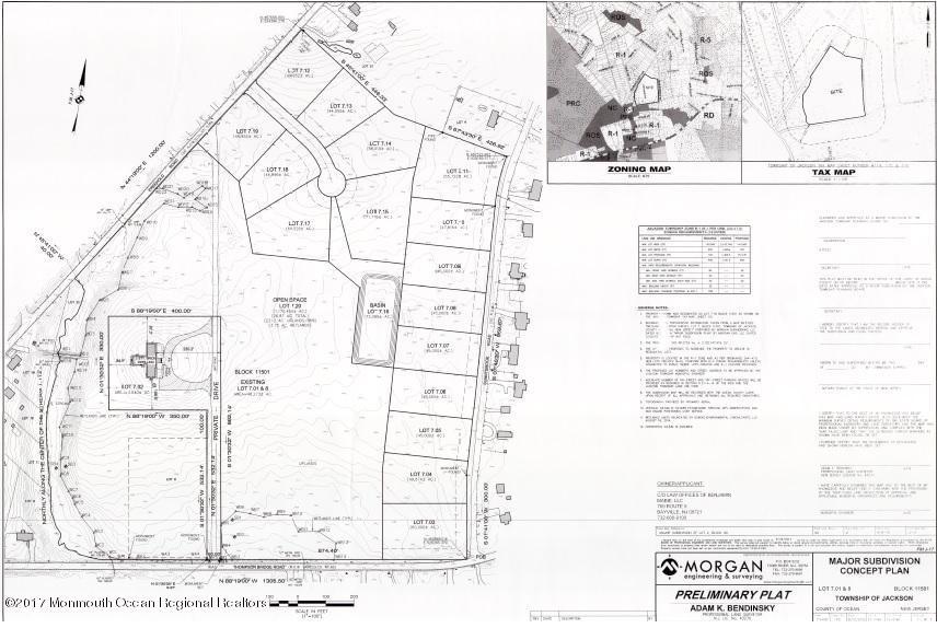Đất đai vì Bán tại Pushkin Road Pushkin Road Jackson, New Jersey 08527 Hoa Kỳ