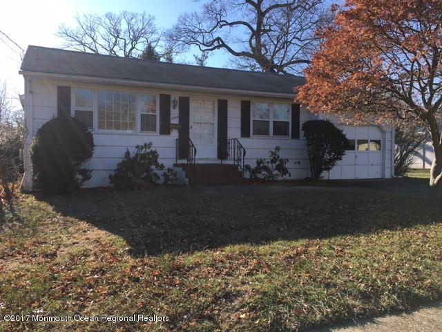 단독 가정 주택 용 매매 에 1604 Bryan Avenue 1604 Bryan Avenue Ocean Township, 뉴저지 07712 미국