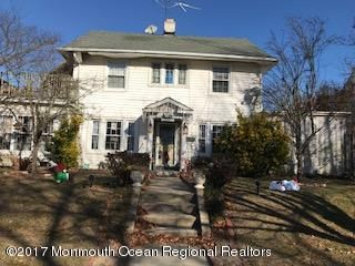 Single Family Home for Sale at 406 2nd Avenue 406 2nd Avenue Bradley Beach, New Jersey 07720 United States