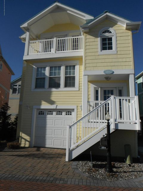 Single Family Home for Sale at 804 Bay Club Lane 804 Bay Club Lane Beach Haven, New Jersey 08008 United States