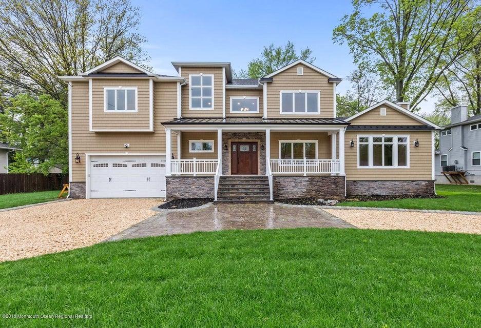 独户住宅 为 销售 在 133 Monmouth Boulevard 133 Monmouth Boulevard Oceanport, 新泽西州 07757 美国
