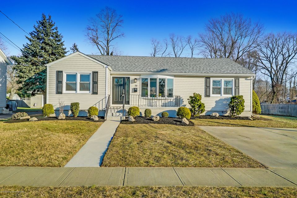 Single Family Home for Sale at 72 Bennett Avenue 72 Bennett Avenue Neptune City, New Jersey 07753 United States