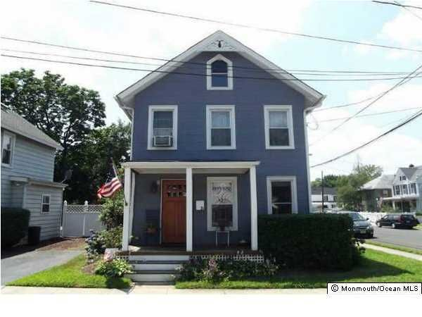 Single Family Home for Rent at 24 First Street 24 First Street Keyport, New Jersey 07735 United States