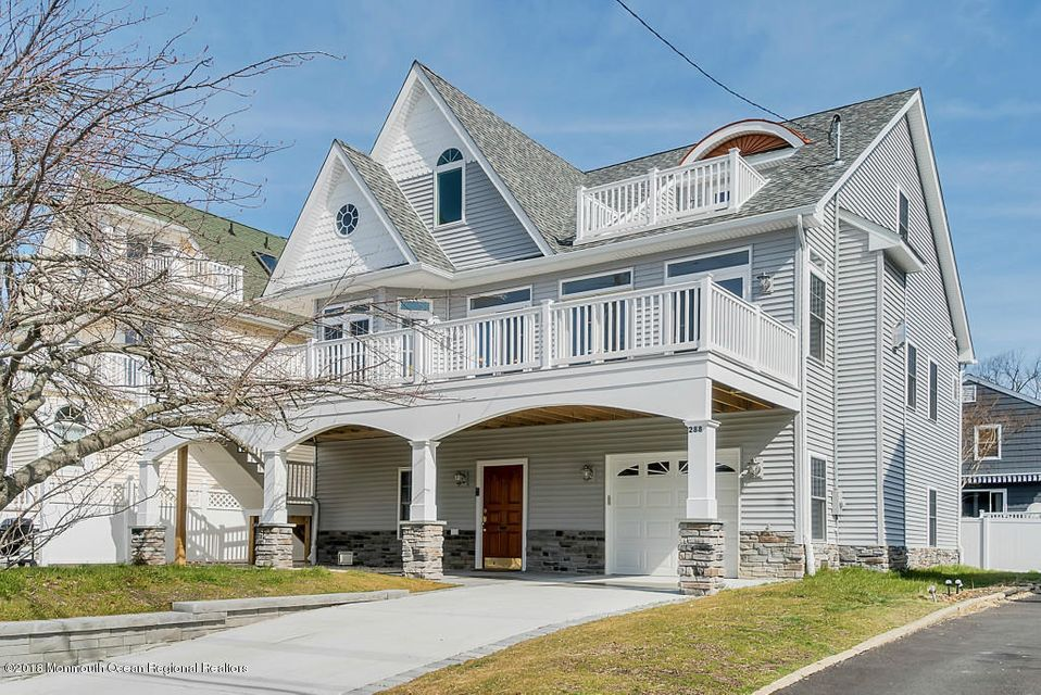 Single Family Home for Rent at 288 Perrine Boulevard 288 Perrine Boulevard Manasquan, New Jersey 08736 United States