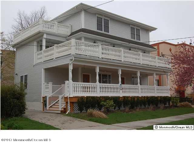 Single Family Home for Sale at 408 Asbury Avenue 408 Asbury Avenue Asbury Park, New Jersey 07712 United States