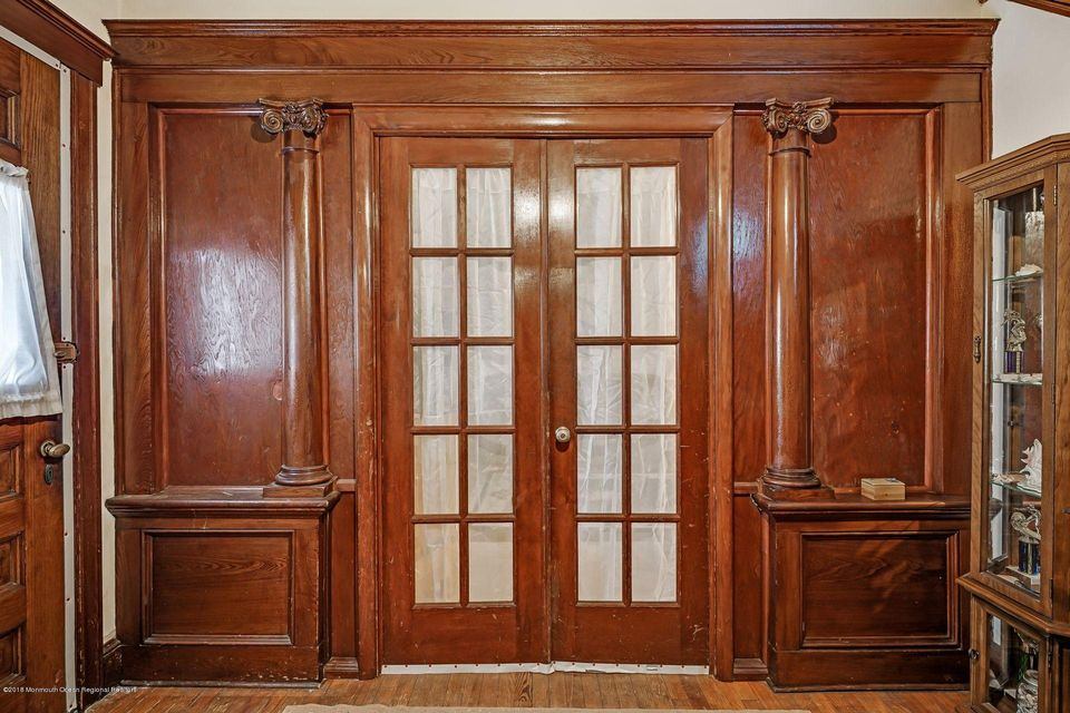 French Doors Into Living Rm