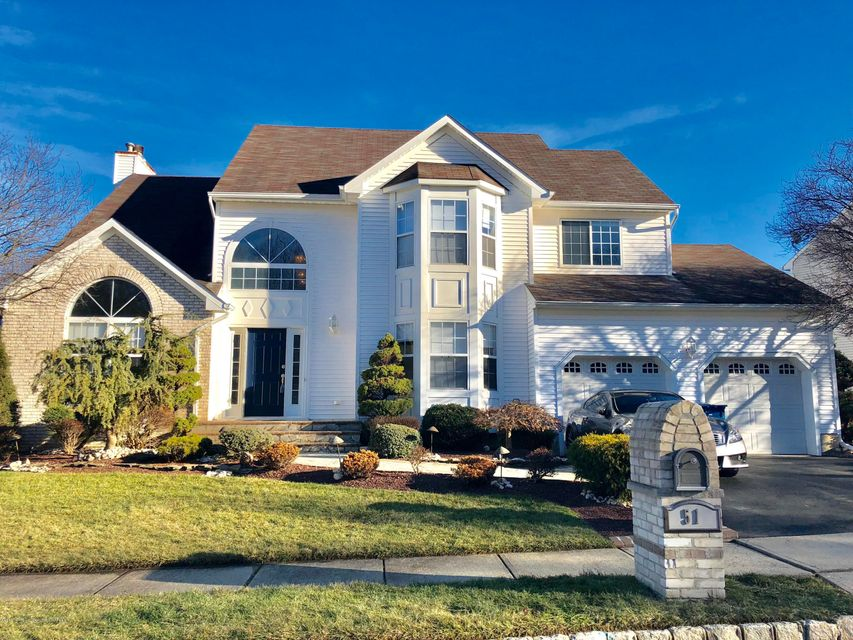 Single Family Home for Sale at 51 Winding Brook Drive 51 Winding Brook Drive Matawan, New Jersey 07747 United States