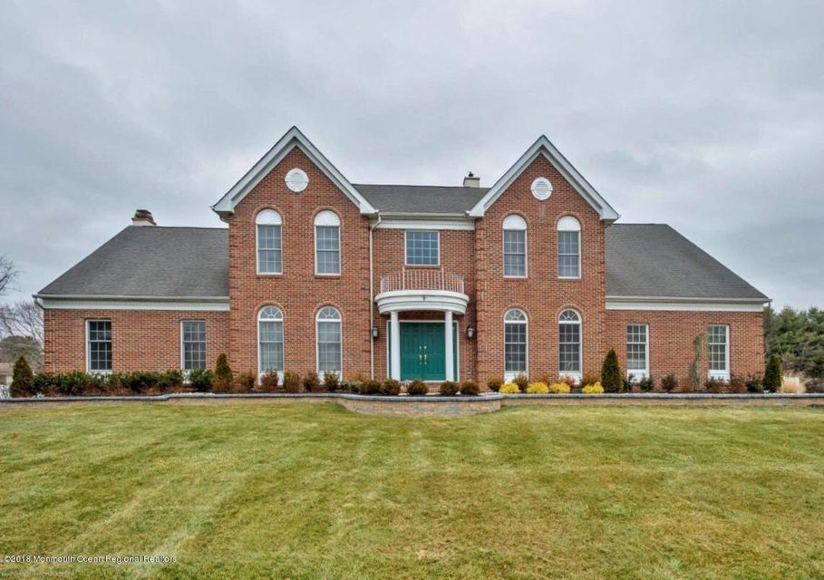 Maison unifamiliale pour l Vente à 1 Greenview Drive 1 Greenview Drive Chesterfield, New Jersey 08515 États-Unis