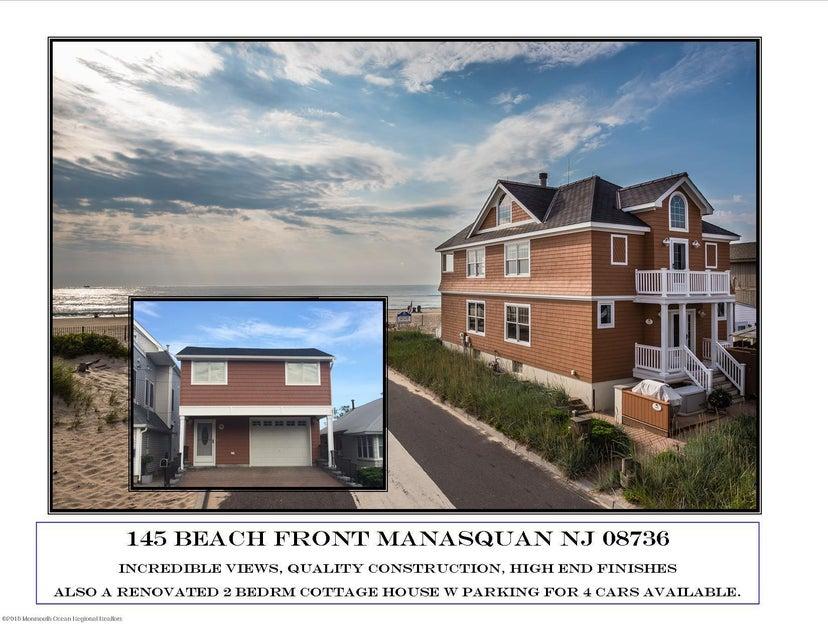 Casa Unifamiliar por un Venta en 145 Beach Front 145 Beach Front Manasquan, Nueva Jersey 08736 Estados Unidos